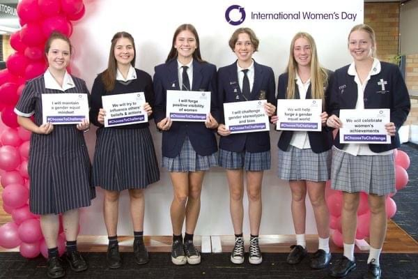 International Women's Day workshop for school students